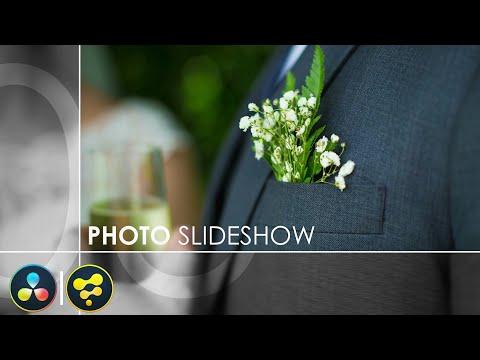 Photo Slideshow Animation in DaVinci Resolve 15 Using Fusion 9