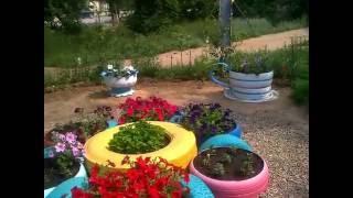 видео Как облагородить и благоустроить придомовую территорию