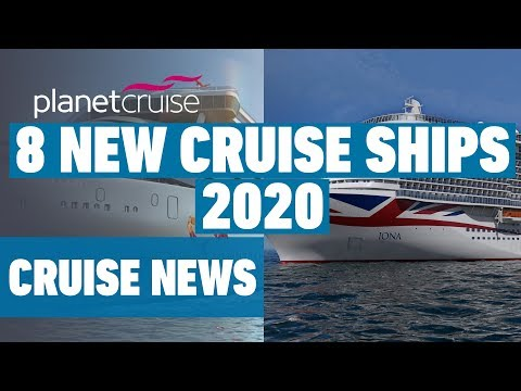 8 New Cruise Ships Arriving In 2020 | P&O, Royal Caribbean, Carnival, Virgin, Princess And More!