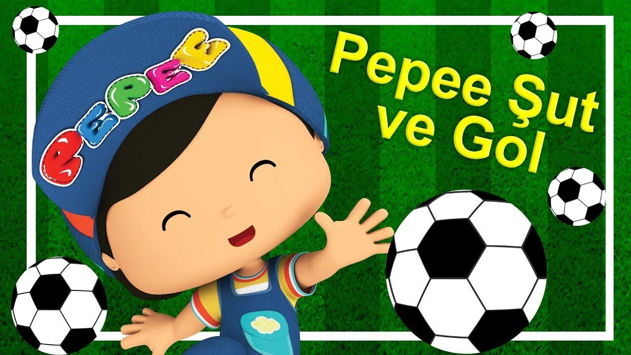 Pepee - Futbolcu Pepee - Şut ve Futbol Oynuyor YENi - Çocuk Şarkıları & Eğitici Çizgi Film | Düş
