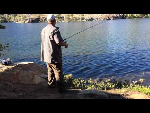Fishing Lower Velma Lake
