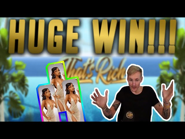 HUGE WIN! That's Rich BIG WIN - Casino Games from CasinoDaddy live stream