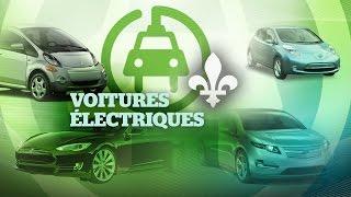 Voitures électriques au Québec