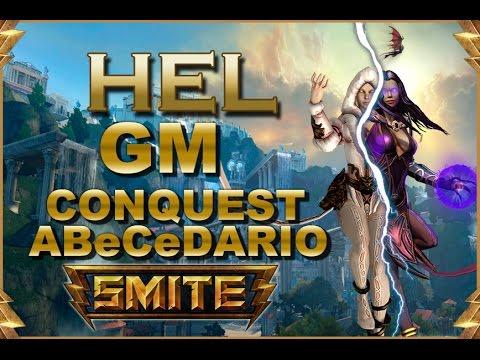 SMITE! Hel, A falta de uno 2 healers xD! GM Conquest Abecedario #32