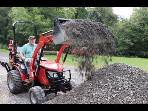 224 just how much weight does this tractor lift rk 24 youtube. Black Bedroom Furniture Sets. Home Design Ideas