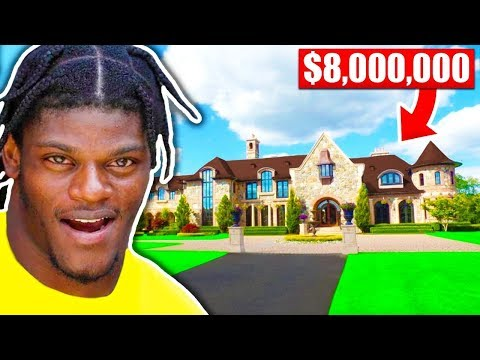 What NFL Players Bought With FIRST Check (Lamar Jackson, Patrick Mahomes, Saquon Barkley)