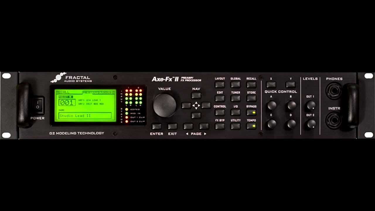 how to use axe fx