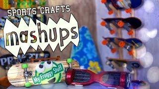 Mash Ups: Sports Crafts - Snowboard   Surfboard   Skateboard   Bicycle   Helmet