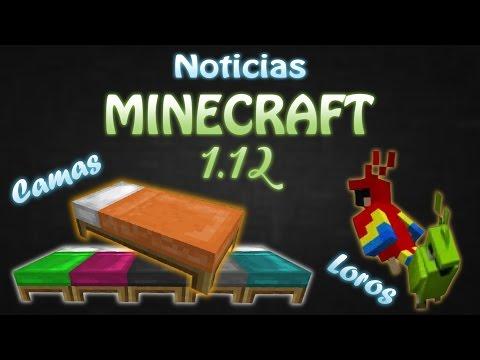 Noticias Minecraft 1.12
