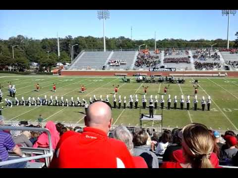 Strom Thurmond Marching  Band TOB 2015