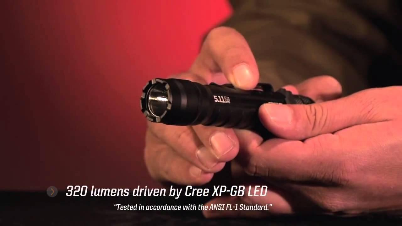 LED Lenser LED1200 P7.2 Professional LED Torch 320 Lumens