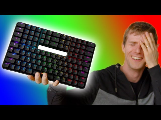 Who would WANT a Keyboard like this? – Chassepot C1000 Review