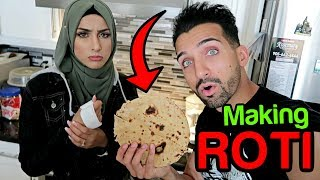 WE TRIED MAKING A ROTI (Hilarious Fail)