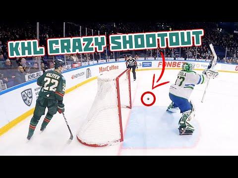 Самый безумный буллит в КХЛ   KHL crazy shootout