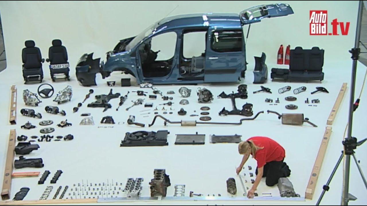 Peugeot Partner Tepee 100000 Kilometer Im Einsatz