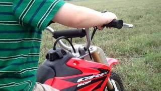 Rayce James - 4 year old on 50cc dirt bike