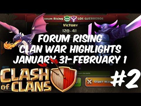 Clash of Clans | Forum Rising | Clan War Highlights | Episode 2