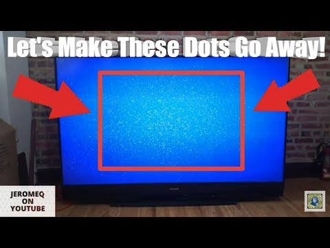 My DLP TV Has Dots! - How I Repaired our Mitsubishi DLP TV