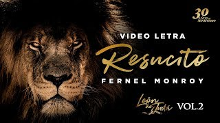 Resucitó - Fernel Monroy (sencillo) - Video Letra