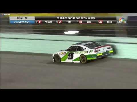 Casey Carter - Tyler Reddick wins Xfinity Series Championship
