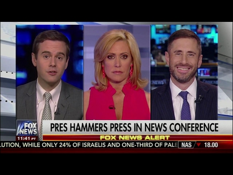 Trump Hammers Press in News Conference - Guy Benson