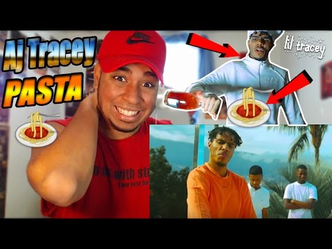 AJ Tracey Pasta Reaction Thoughts HE GOT NEXT!! (EP Little Tracey) UK Rap Grime Reaction