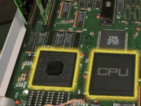 Central Processing Unit of Computer Virtual TOUR