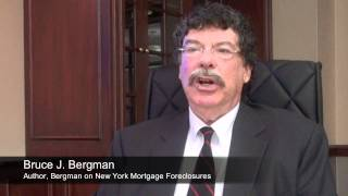 Bergman on Standing - Talking About NY Foreclosure Law