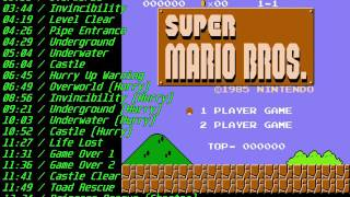Nes Super Mario Bros Soundtrack (FDS)
