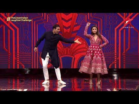 The Great Indian Laughter Challenge   Akshay Kumar and Parineeti Chopra's Dance