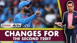 #WIvIND: CHANGES for the 2nd T20I?   Castrol Activ #AakashVani