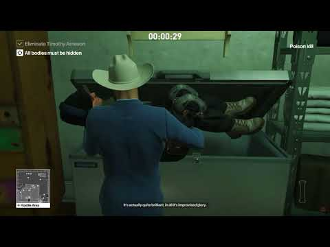 HITMAN - Snake in the Grass - Featured Contract /SA/SO
