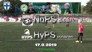 Pingviini Cup 2019 NuPS sininen vs HyPS punainen 17.8.2019