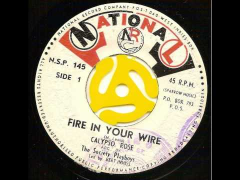 Fire In Your Wire - Calypso Rose