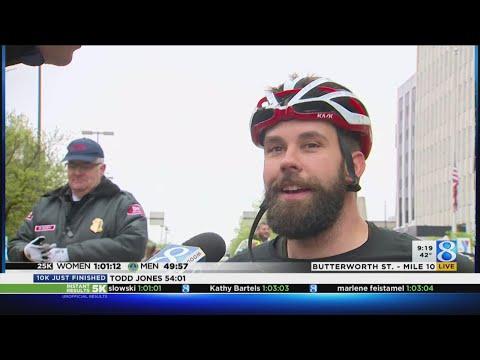 Aaron Pike wins fourth-straight 25K Wheelchair race