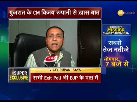 Watch: Zee Media speaks to Chief Minister of Gujarat Vijay Rupani