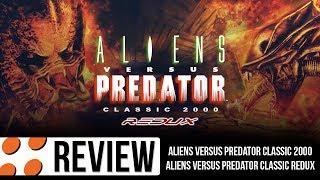 Aliens versus Predator Classic 2000 & Classic Redux Mod Video Review