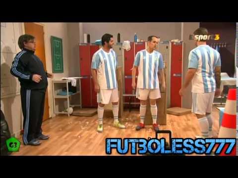 Parodia A La Seleccion De Argentina 2015   Messi   Tata Martino   Crackovia
