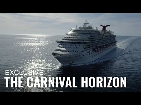 Carnival's Mind Blowing New Horizon Cruise Ship (Video)