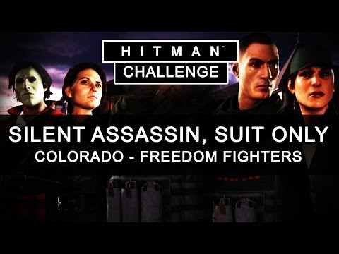 Hitman Colorado Silent Assassin Suit Only - Hitman USA Mission - Hitman Challenge