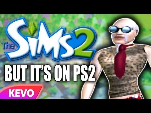 Sims 2 but it's on PS2