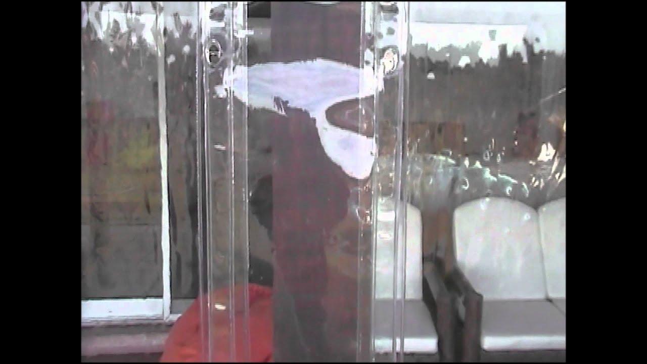Cerramientos en pvc transparente youtube - Como hacer un porche ...