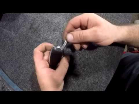 Как заменить батарейку в ключе Mercedes Benz