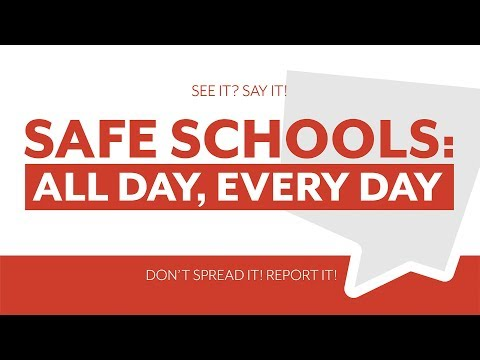 Safe Schools: All Day, Every Day - PCSD25