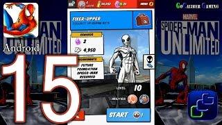 Spider Man Unlimited Android Walkthrough - Part 15 - Issue 3: Danger High Voltage