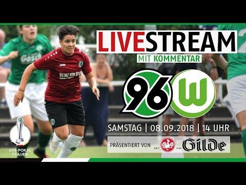 LIVE: Hannover 96 vs. VfL Wolfsburg | DFB-Pokal der Frauen
