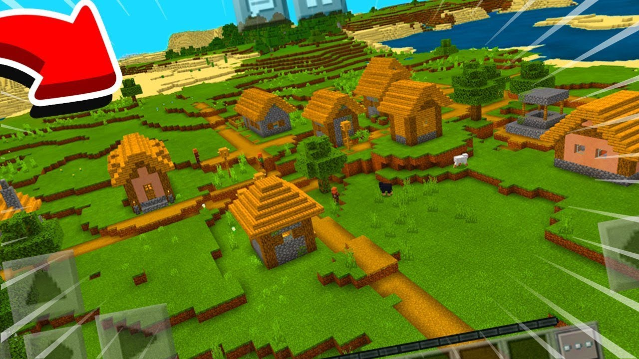 HOW TO FIND THE NEW VILLAGES IN MINECRAFT POCKET EDITION
