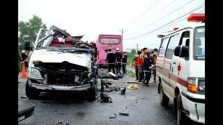 Vụ tai nạn thảm khốc ở Tây Ninh 6 người chết tại chổ và nhiều người bị thương