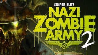 Sniper Elite: Nazi Zombie Army 2 - Gameplay - [UNCUT] [FULL-HD]