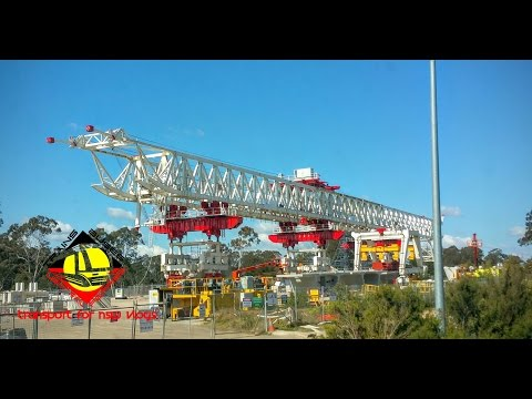 Transport for NSW Vlog No.749 North West Rail Link
